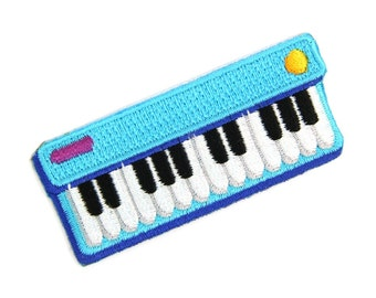 Keyboard Jam Iron On Patch