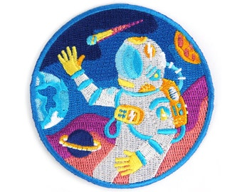 Outer Space Iron on Patch