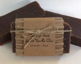 Sweet Vanilla Chai Cold Process Soap
