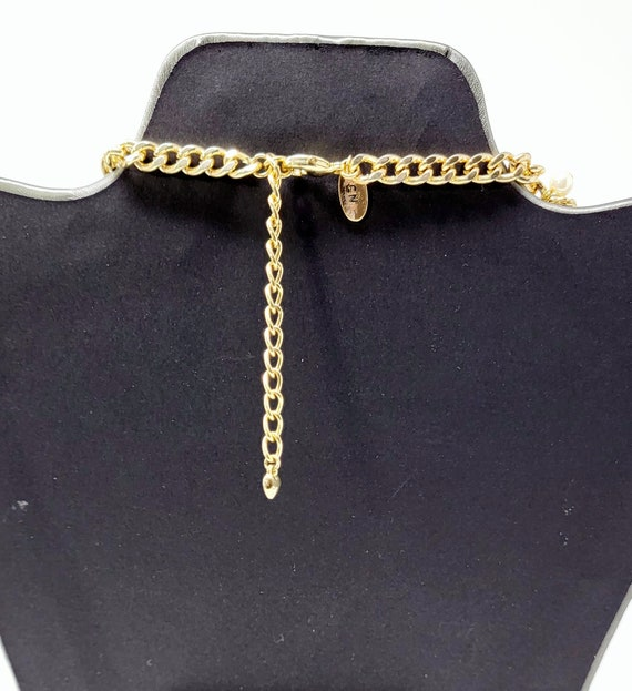 Vintage Arnold Scaasi Cascading Pearl Necklace - image 5