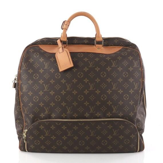 Vintage Louis Vuitton Monogram Large Evasion Soft Sided   Etsy 5574537cf8