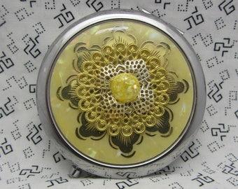 Cadeau de demoiselle d'honneur miroir compact est livré avec pochette cadeau pour son Angela
