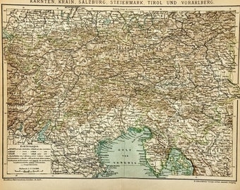 Slovenia Map Shape Pendant Square Tie Clip