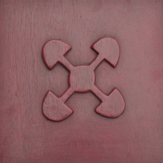 Linked Hearts Adinkra Symbol Akomo Ntoso Understanding And Etsy