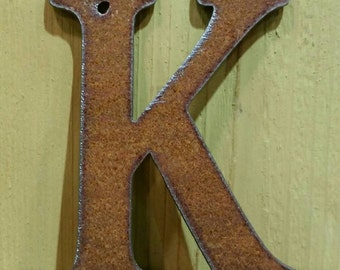 Metal Rustic Letters - ORDER as many letters as you need 4GDY