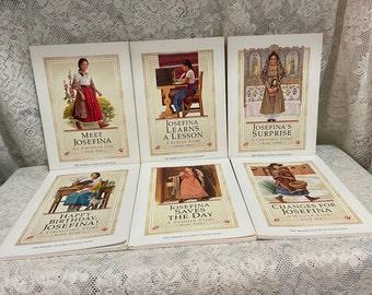 JOSEFINA ~ The American Girl Book Collection ~ Hispanic Girl Of The 1824 Era ~ 1990's ~ PLEASANT Co ~ Soft Cover