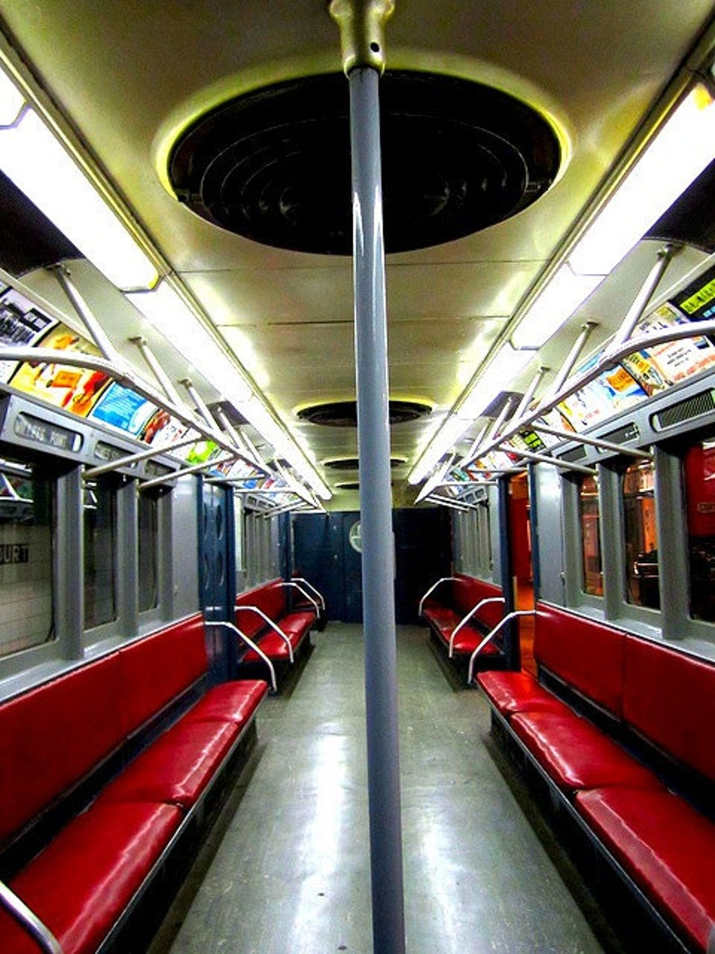Subway Series 4  New York City   ruby red  8 x 10 image 0