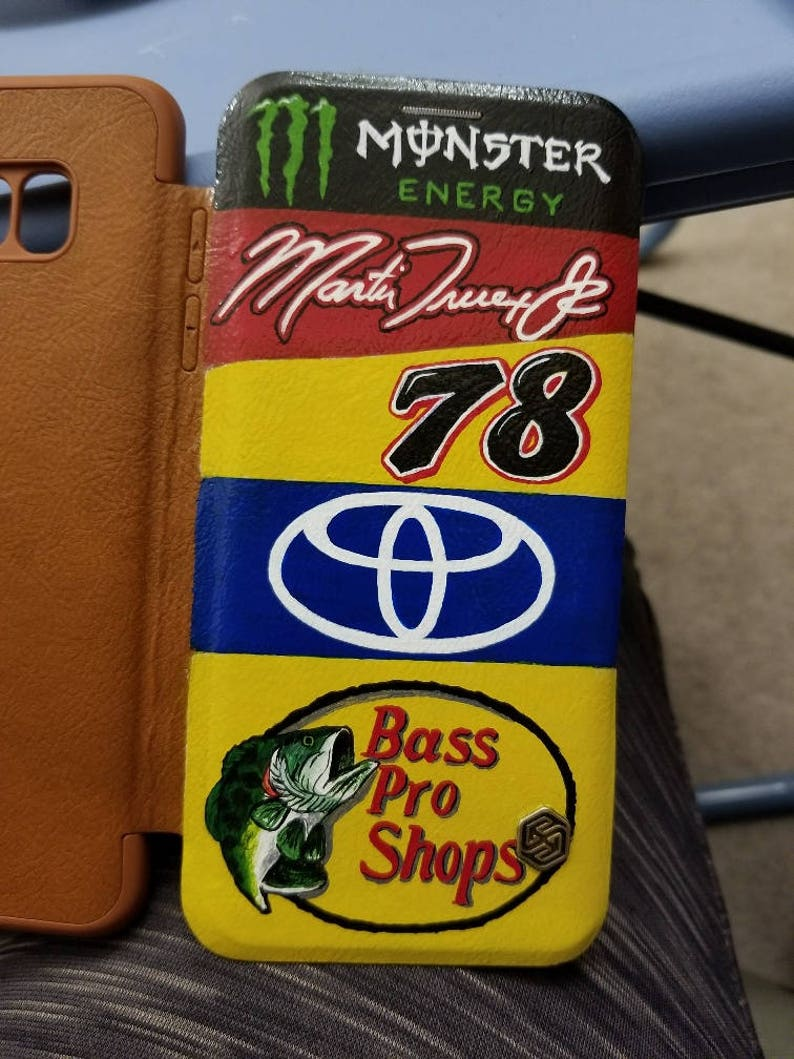 lowest price 13ae8 7d804 CUSTOM ORDER - Martin Truex Jr. Nascar hand painted phone case