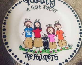 "Family ""Gotcha Day"" Adoption Plate"