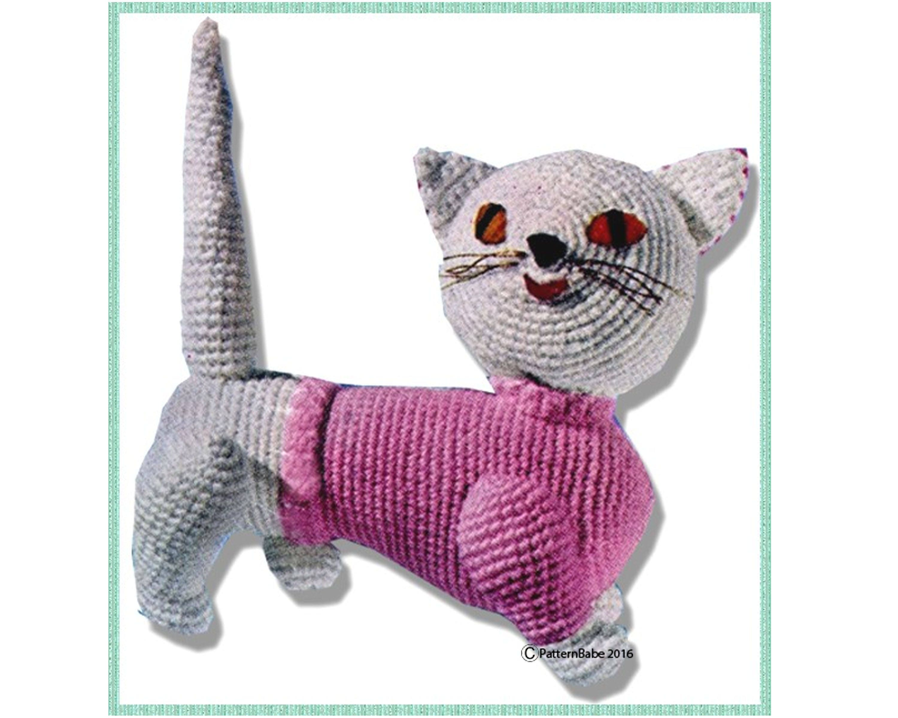 Cat Sweater Pattern Magnificent Design Ideas
