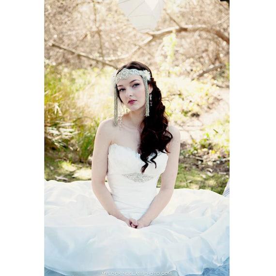 The Alana Headdress- Custom Colors Available- OOAK Made to Order, Bespoke