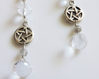 White Witch Earrings