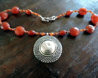 Autumn Queen Necklace