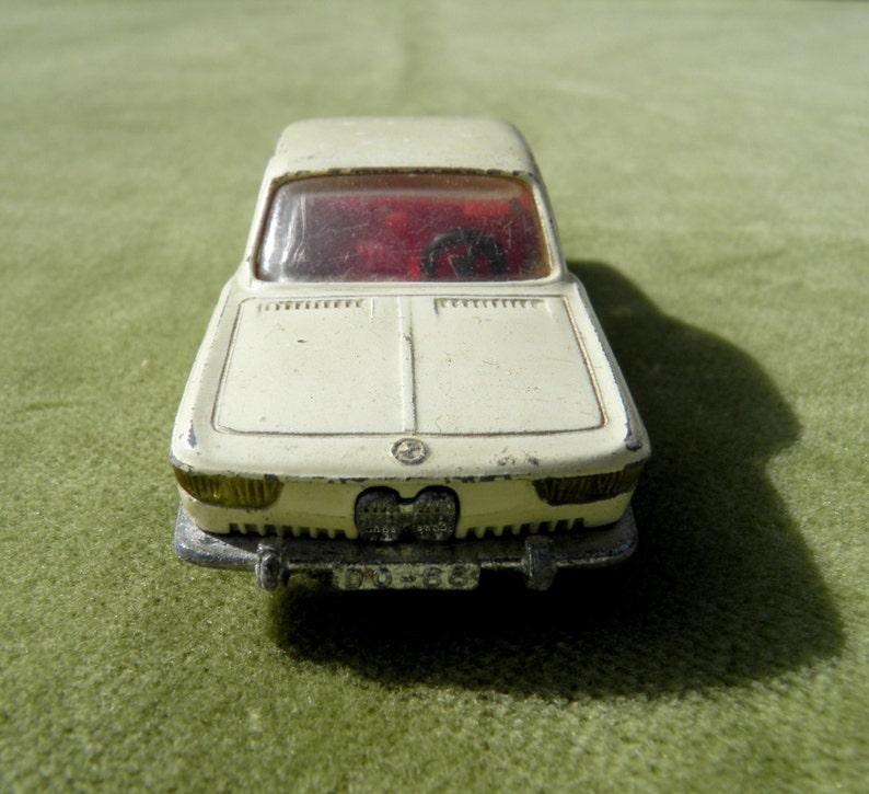 Very Rare 1966 BMW 2000 CS Karmann Coup\u00e9 Classic Diecast Car Authentic Mid 1960/'s Metal Car SIKU Germany 1:60 Scale