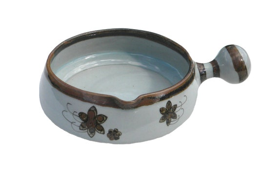 Vintage Ken Edwards Tonala Style Bean Pot with Lid Guadalajara Mexico