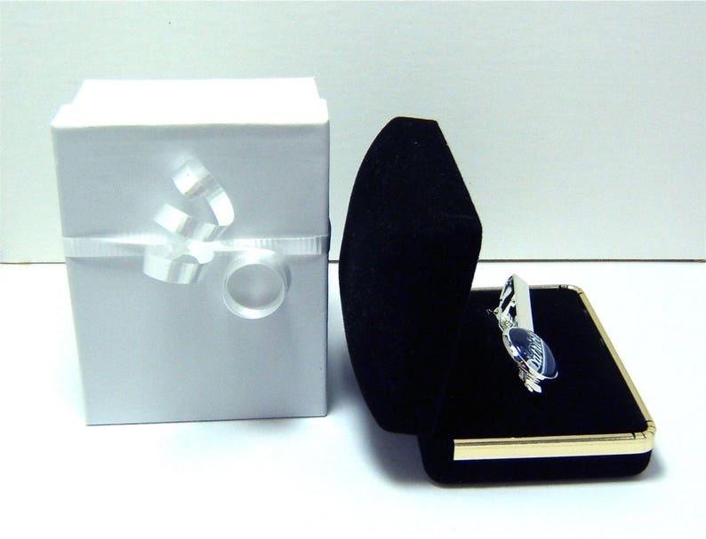 Helicopter Airplane Tie Clip-Monogramed Gift Box-Wedding-Keepsake-Man Gift-Groom-Men-Army-Marines-Air Force-Coast Guard-Navy-Pilot