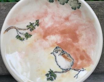 Bird on a spoon rest