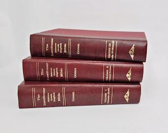 The Interlinear Hebrew Greek English Bible - Volumes 1-3 - Old Testament