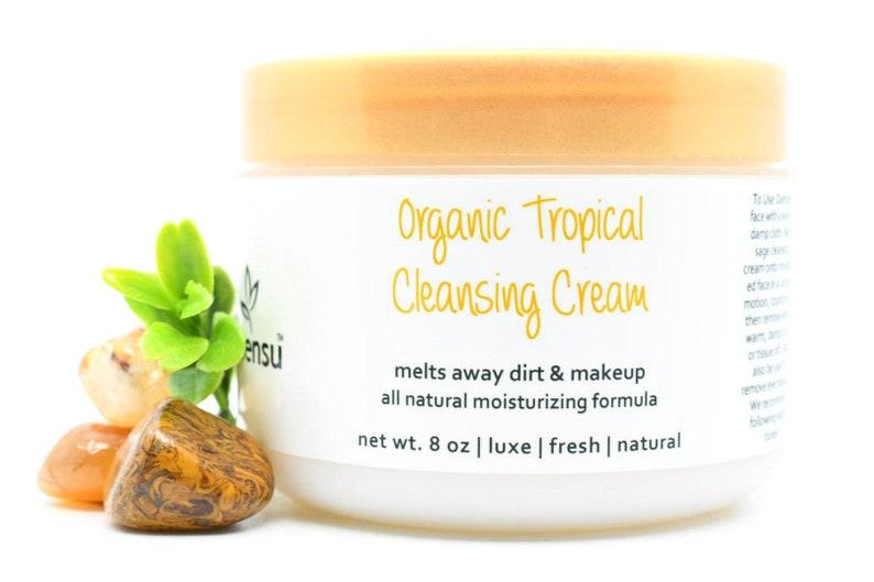 Organic Banana Nourishing Tropical Facial Cleansing Cream  image 0
