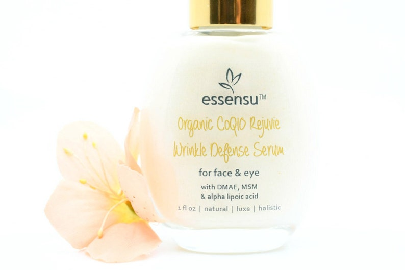 Best Organic CoQ10 Rejuvie Wrinkle Defense Facial Treatment image 0
