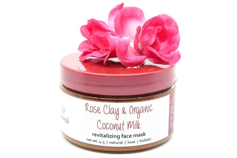Organic Rose Clay Coconut Milk Revitalizing Vitamin Enzyme image 0