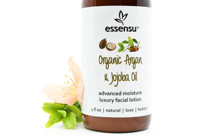 Organic Argan and Jojoba Oil Silk Protein Crystal Infused Face image 0
