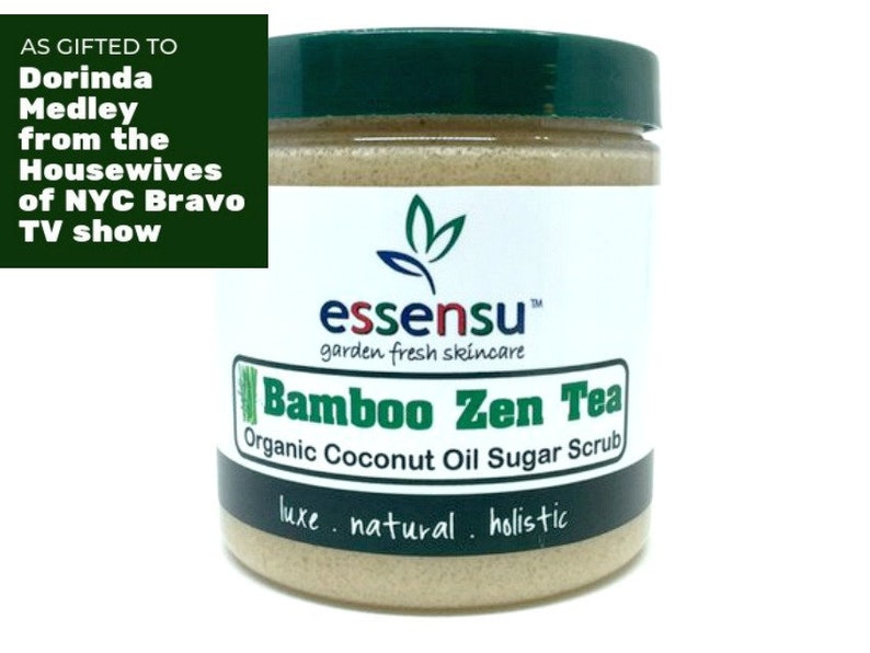 Bamboo Zen Tea Organic Coconut Oil Exfoliating Sugar Scrub image 0