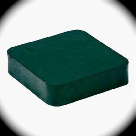 """Rubber Dapping Block Relieves Stress on Your Joints when you Stamp 4"""" x 4"""" x 4"""" x 1"""""""