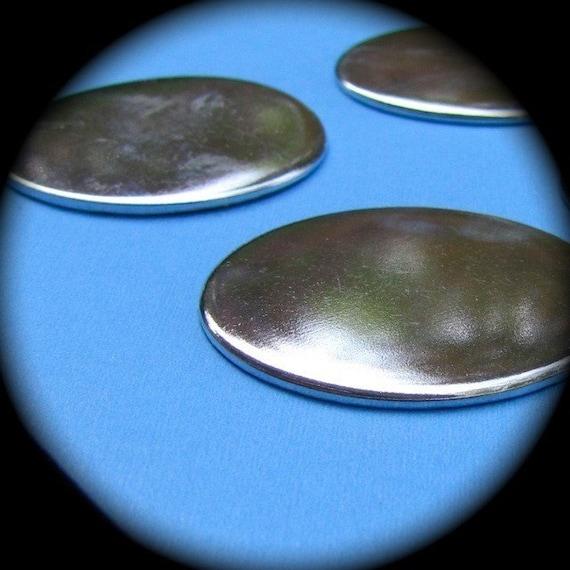 """10 Blanks 1.5 inch Pure Aluminum Discs 14 Gauge - 10 Circle 1-1/2"""" Discs"""
