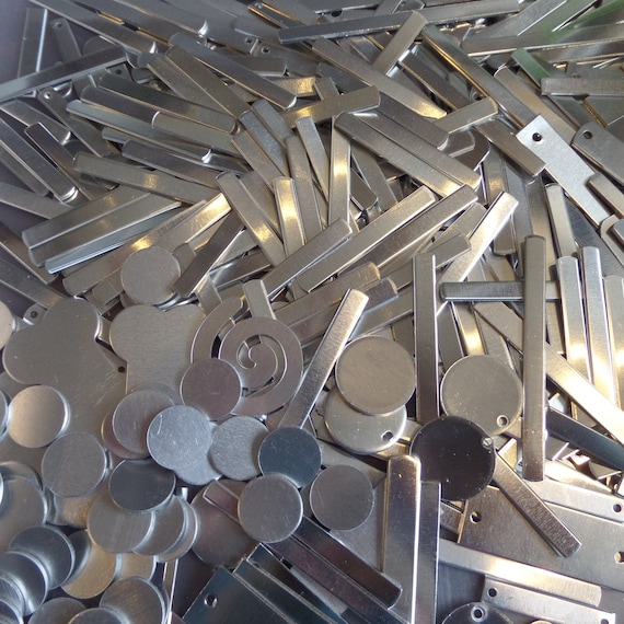 1 Pound of ALUMINUM SCRAP End Cuts, Final Inventory, and Seconds