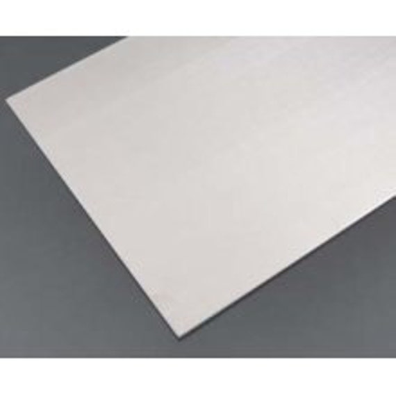 "1 Sheet 6"" x 6"" 16 Gauge Pure 1100 Soft Temper Pure Aluminum Sheet PVC Protective Film on Both Sides Remove Before Use"