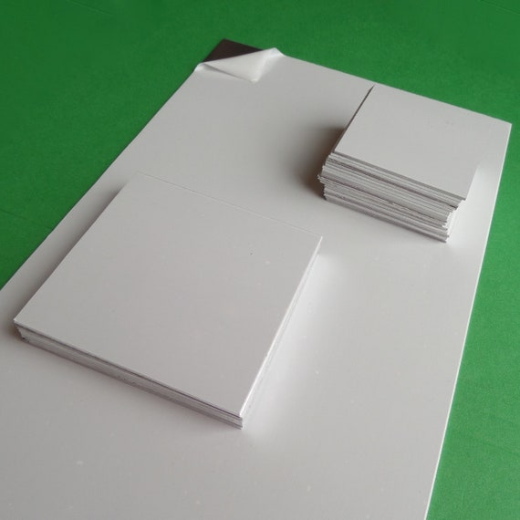 "DEAL Aluminum Sheet 16 Gauge 3003 6"" X 12"" or Choose 3"" or 2"" Square Pieces Protective PVC on Both Sides Half Hard Temper"