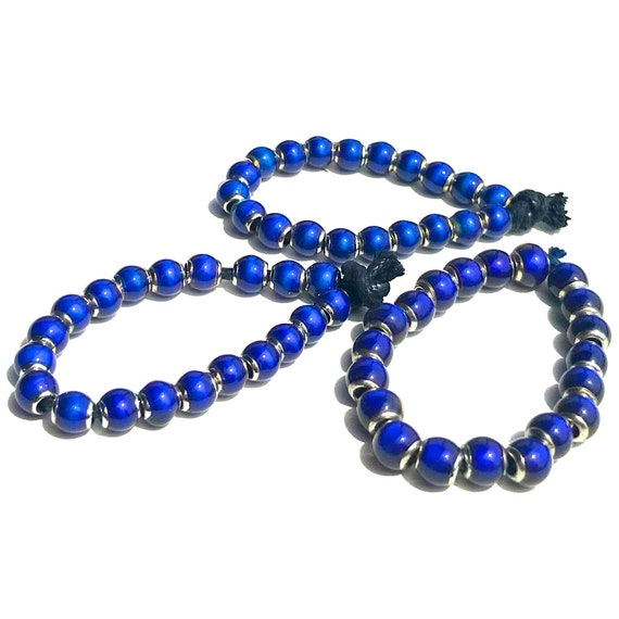 6mm Glass Mood Beads by Mirage Changes from Blue, Green, Lime to Purple - Choose Quantity
