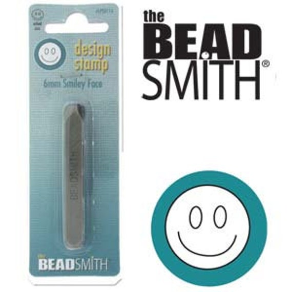 6mm SMILEY FACE Smile Design Punch by Beadsmith Perfect for Mandalas and other Metal Stamped Jewelry Designs