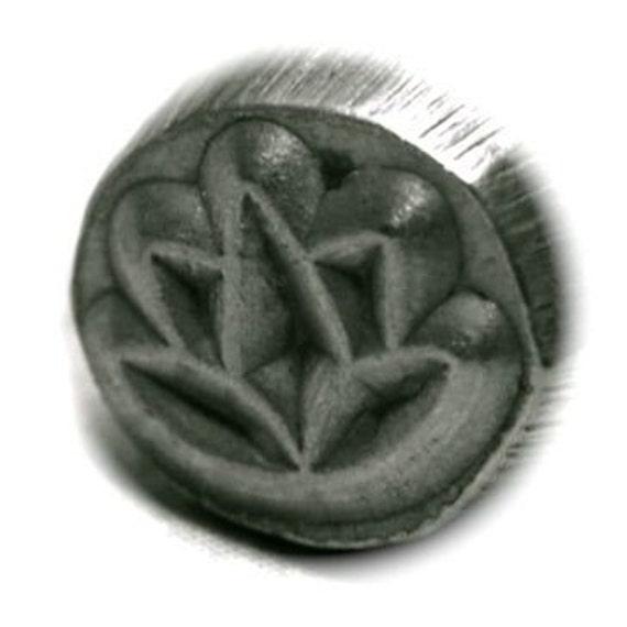 Metal Stamp - Lotus or Tulip