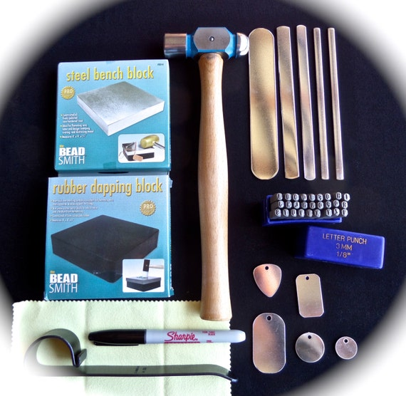 BEST Metal Stamping Jewelry Starter Kit