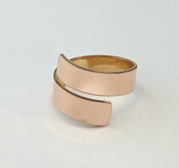"30  Ring Blanks 1/4"" 18G Copper or Jeweler's Brass Tumble Polished - Blanks Will Arrive Flat"