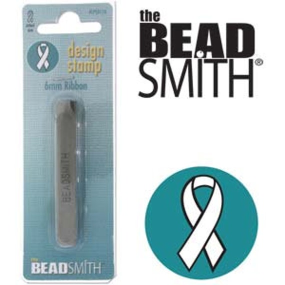Ribbon 6mm Design Punch by Beadsmith Perfect for Metal Stamped Jewelry Designs