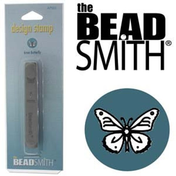 6mm BUTTERFLY FACE Design Punch by Beadsmith Perfect for Mandalas and other Metal Stamped Jewelry Designs