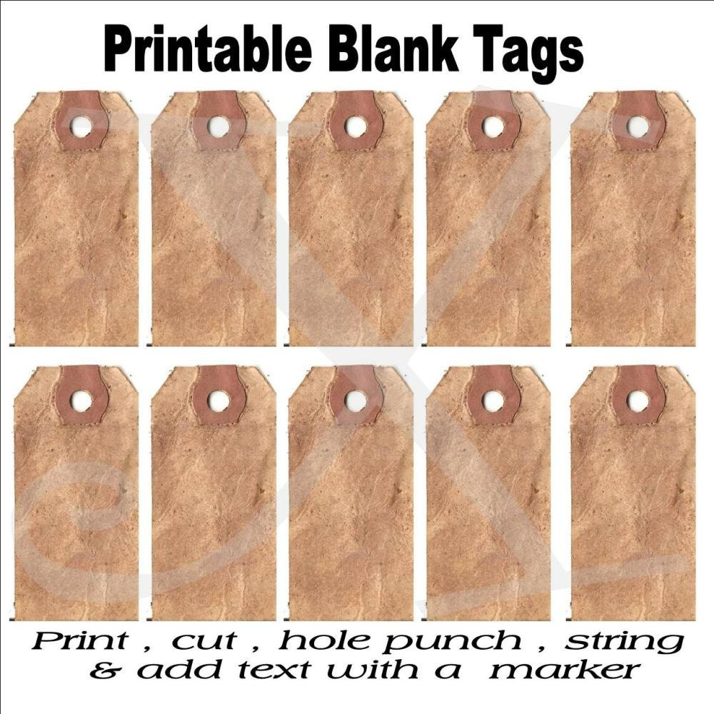 picture regarding Blank Tags Printable identify Prim Tags Printable Sheet , Electronic , Blank Grungy