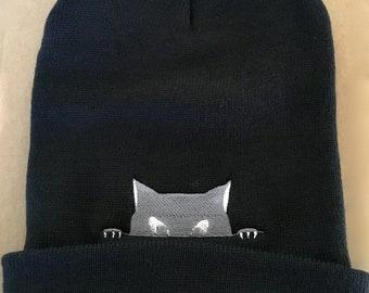 74325e74e08c3 Cat beanie | Etsy