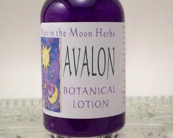 Patchouli Lotion with Musk and Sandalwood - Avalon Botanical Moisturizer