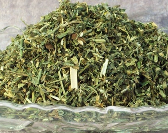 Super Potent Catnip - 1/4 Pound - Bulk Cat Mint - Gift for Cat Lovers - Dried Herbs for Cat Toys