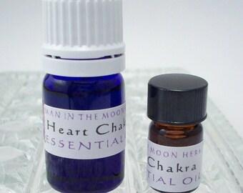 Heart Chakra Essential Oil - 5/8 Dram or 5 mL - Aromatherapy Diffuser Oil - Chakra Balancing