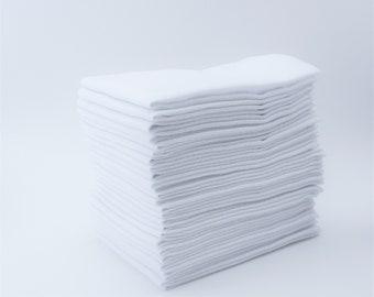 Reusable Washable Paper Towels - Double Bakers Dozen of Reusable Cotton Wipes