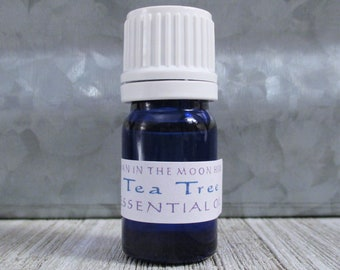 Tea Tree Essential Oil - Pure Undiluted Melaleuca for Diffusers, Ointments and Balms