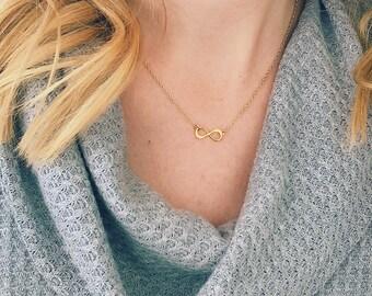 Petite Infinity Necklace