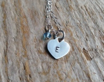 Little Lady Necklace- Perfect for flower girl or confirmation gift!