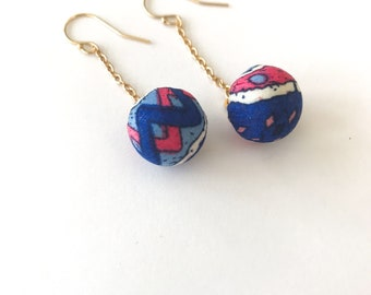 Boho Fabric Earrings