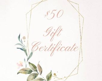 Magpie Studio + co. Gift Certificate